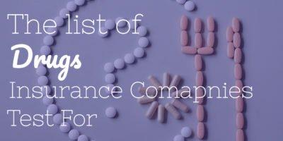 life insurance drug test
