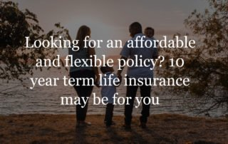 10 year term life insurance