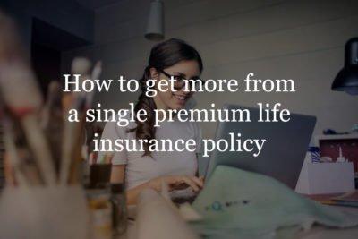 single premium life insurance policy