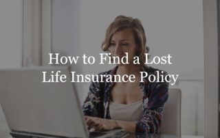 find lost life insurance policy