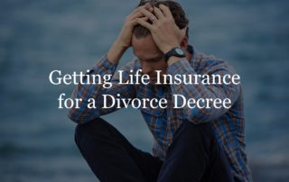 life insurance divorce decree